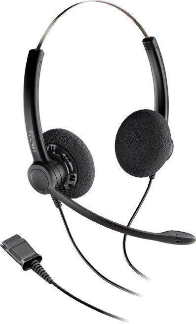 Наушники-гарнитура проводная Plantronics SP12-QD черный