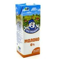 Молоко простоквашино стерилизованное 6% , 950 мл