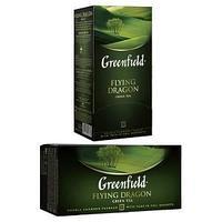 Чай Greenfield, Flying Dragon, зеленый, 2 гр х 25 пакетов.