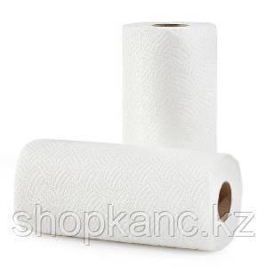 Бумажное полотенце, двухслойные, 4  рул в упак