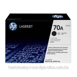 Картридж Лазерный Hewlett-Packard Q7570A, 15K, оригинал, черный.