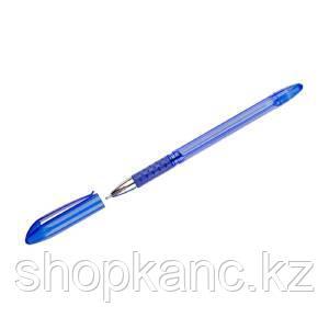 Ручка шариковая, College, синяя, 0,7 мм, грип, на масляной основе.
