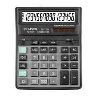 Калькулятор настольный 16 разрядов, SK-716II, 158*203*33 мм, чёрный.