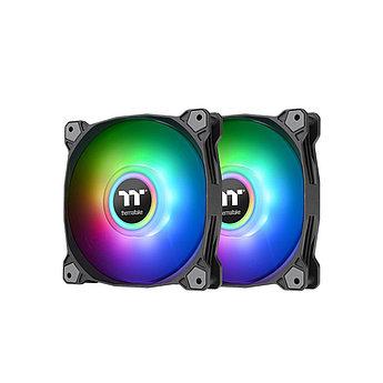 Кулер для компьютерного корпуса Thermaltake Pure Duo 12 ARGB Sync Radiator Fan (2-Fan Pack) Black