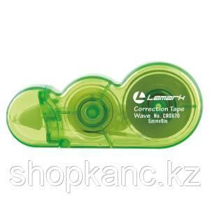 Корректирующая лента Wave 5 мм х 6 м, зеленый корпус