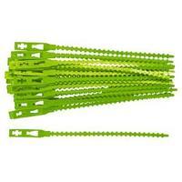 Подвязки для садовых растений, 13 см, пластиковые, 50 шт