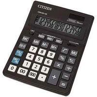 Калькулятор настольный, Business Line CDB, 16 разрядов, двойное питание, 157*205*35 мм, черный.