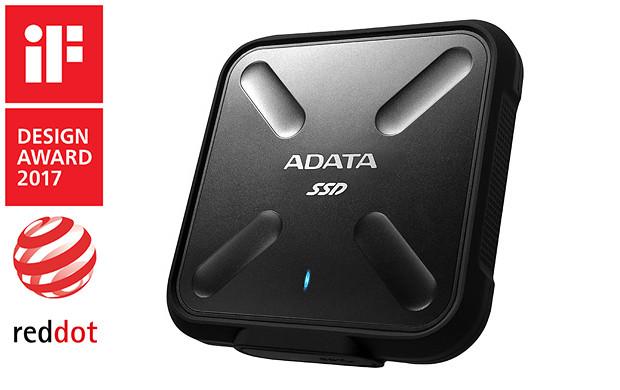 Жесткий диск SSD 1000GB Adata ASD700-1TU31-CBK черный