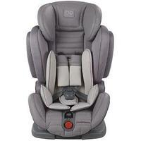 """Детское автомобильное кресло Happy Baby """"Mustang"""" gray, 9 мес. -12 лет, 9-36 кг, группа 1,2,3"""