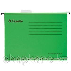 Подвесная папка Pendaflex Plus Foolscap, 240 * 412мм, картон, 210 г/м2, зеленая.