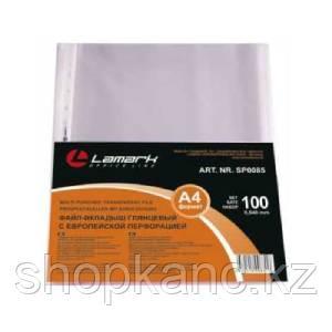 Файл-вкладыш Lamark глянцевый, А4, 0,040 мм, 100 шт./упак