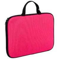 Папка-сумка с ручками А4, 1 отделение на молнии Color Zone, розовый