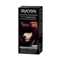 """Краска для волос """"SYOSS COLOR"""" 3-3 темно фиолетовый 1шт."""