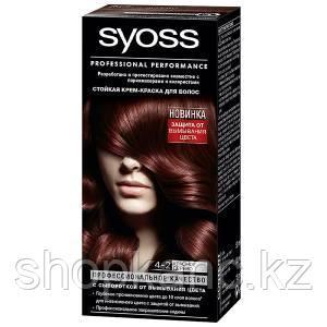 Краска для волос SYOSS Baseline 4-2 Красное дерево 115 мл