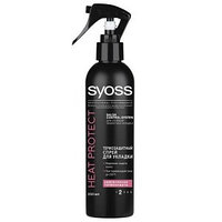 Лак для волос Syoss без фиксации термозащита, 250 мл