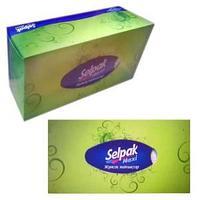 Салфетки в коробке, MAXI, 100 шт.