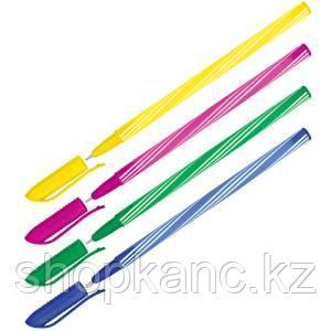 "Ручка шариковая OfficeSpace ""Spiny"" синяя, 0,7мм, корпус ассорти, штрихкод"