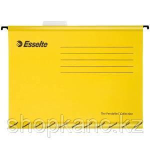 Подвесная папка Pendaflex Plus Foolscap, 240 * 412мм, картон, 210 г/м2, желтая.