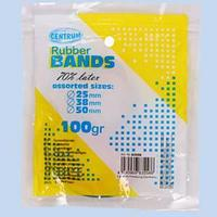 Резинки для денег, 100 грамм, 40 мм, разноцветные