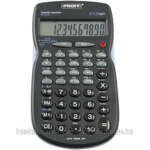 """Калькулятор для научных расчетов 08+2 разрядный """"Proff"""", 56 функций(SC-3708)"""