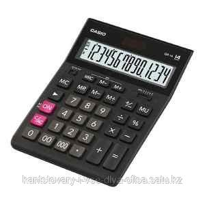Калькулятор настольный, 14 разрядный CASIO GR-14-W-EP