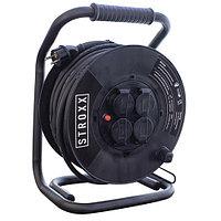 Удлинитель на катушке STROXX 40 м (неопреновый кабель)