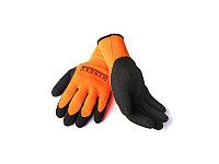 Перчатки зимние рабочие STROXX оранжевые