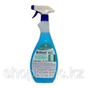 Жидкость для мытья стёкол, Brillant, 750 мл.