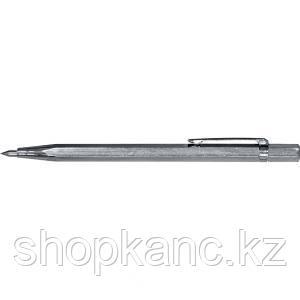 Карандаш разметочный 145 мм, твердосплавный наконечник пластиковый чехол