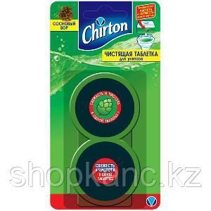 Чистящие таблетки для унитаза CHIRTON, Сосновый Бор, 2 * 50 гр