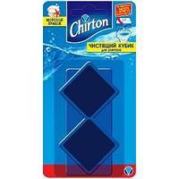 Чистящие кубики для унитаза CHIRTON, Морской Прибой, 2 * 50 гр
