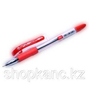 """Ручка шариковая """"Cello Fine Gripper"""", цвет красный."""