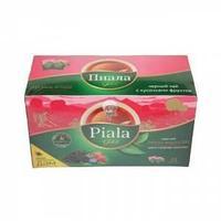 Чай Пиала пакет. черный Лесные ягоды с кусочками фруктов 25пак.*1,5г