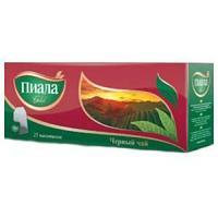 Чай Пиала gold, пакетики с ярлычками, 25шт, 20*2г