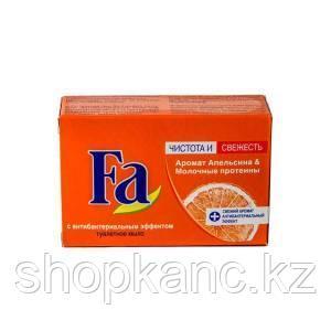Мыло туалетное Fa Аромат апельсина и молочные протеины 90 гр.