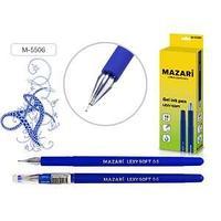 Ручка гелевая LEXY SOFT, цвет чернил синий, 0,5 мм, корпус пластик, soft покрытие.