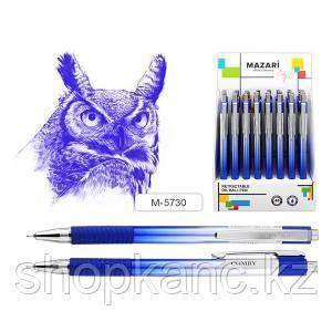 Ручка шариковая, автоматическая, COMBY, 0,7 мм, корпус пластиковый.