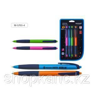 Ручка шариковая, автоматическая, NEON, 0,7 мм, корпус пластиковый.