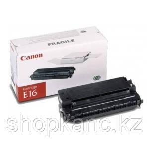 Картридж Лазерный Canon NEW E-16, 2K, оригинал, черный.