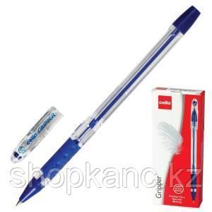 "Ручка шариковая ""Cello Fine Gripper""(оригинал), цвет синий."