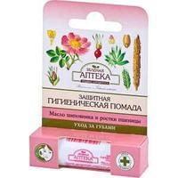 Гигиен.помада с маслом шиповника и ростками пшеницы 3,6г