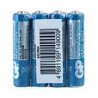 Батарейка GP, R03, AAA, 1,5 V, 4 штуки в плёнке.