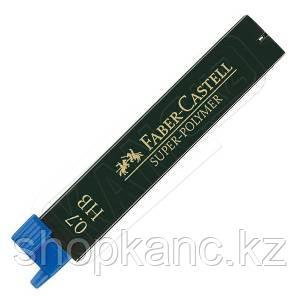 Грифели графитные  SUPERPOLYMER 0,7 мм, твердость HB.