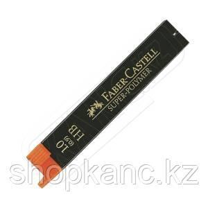 Грифели графитные  SUPERPOLYMER 1.0 мм, твердость HB.