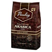 Кофе в зернах Paulig Arabica Dark, натуральный, степень обжарки-4, вакуумная упаковка, 1000 гр