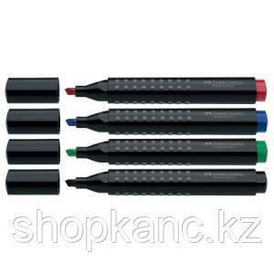 Маркер перманентный GRIP 1503, клиновидный наконечник, чёрный.