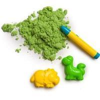 Кинетический песок, зелёный, 90 г