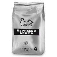 Кофе зерновой Paulig Vending Espresso Aroma, степень обжарки-4, упаковка 1000 гр.
