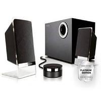 Акустическая система 2.1, М-200 Platinum, 50W, черные.