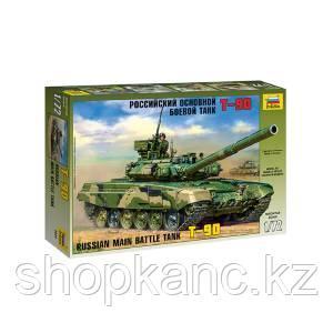 Модель для сборки, Российский основной боевой танк Т-90.